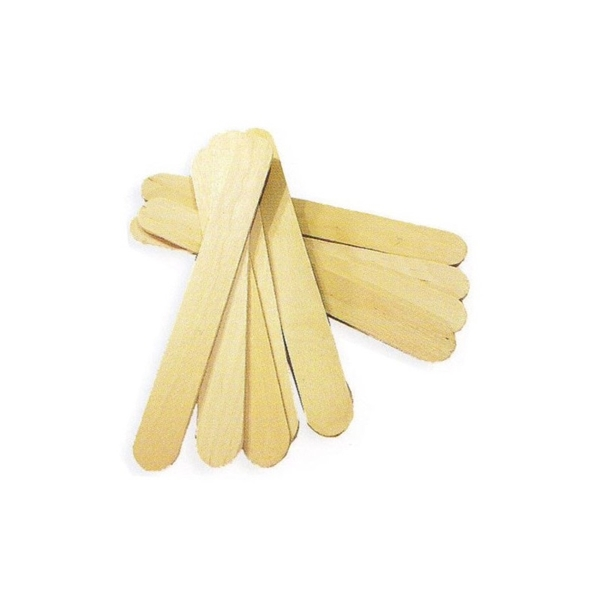Immagine di Spatola in legno per cera 100pz