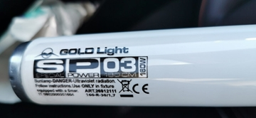 Picture of Gold Light S-Power 03/160W 180cm